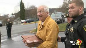 Judge provides no break to Jerry Sandusky, re-sentence hearing results in 30-60 years in prison