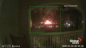 CCTV video captures moment of Houston building explosion