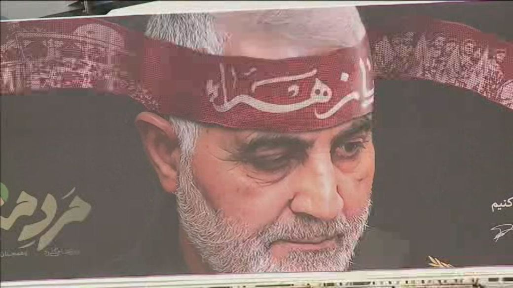 Click to play video 'One year since U.S. assassinated Iran general Qasem Soleimani'