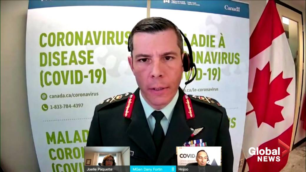 Click to play video: 'Canadians might be vaccinated 'sooner than originally anticipated,' official says'