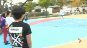 Regina neighbourhood friend group using basketball to bring people together (01:49)