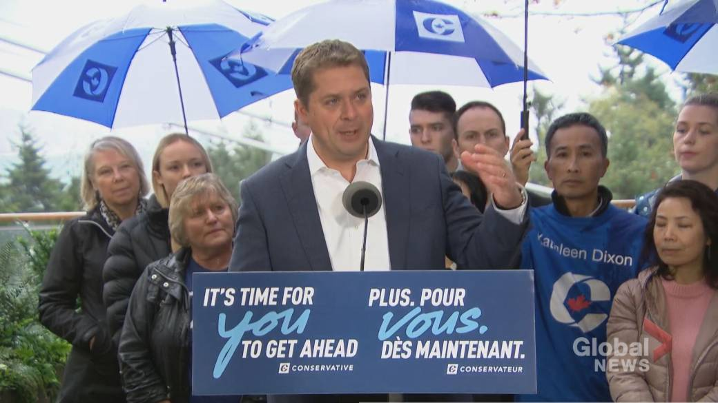 Scheer says he's proud of Conservative Party's work as campaign winds down