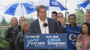 Federal Election 2019: Scheer says he has 'enormous amount of respect' for Jody Wilson-Raybould