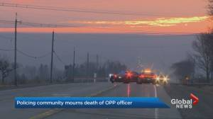 Policing community mourns the loss of OPP officer