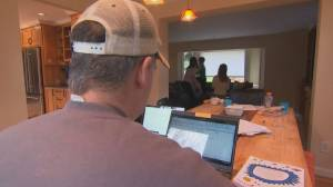 Poll suggests many don't want to return to office post pandemic (02:13)