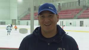 Wacey Rabbit inspiring youth, pushing for Indigenous representation in hockey (02:03)