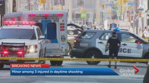 Minor among 3 injured in daytime shooting in downtown Toronto