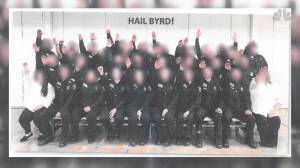 Corrections officers in West Virginia under fire over photo allegedly showing 'Nazi Salute'