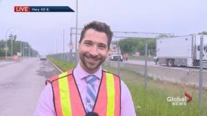 Accident closes highway 40 near Sainte-Anne-de-Bellevue (01:07)