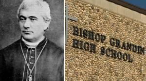 Calgary Catholic trustees vote to rename Bishop Grandin High School (01:41)