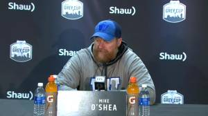 RAW: Blue Bombers Mike O'Shea Interview – Nov. 24