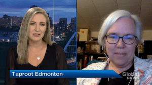 Taproot Edmonton running tool to help voters align with mayoral candidates (04:04)
