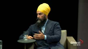 Singh calls on Canadian party leaders to denounce 'divisive' language from Donald Trump