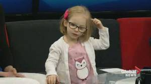 Kids with Cancer: Paisley-Anne being treated for eye cancer
