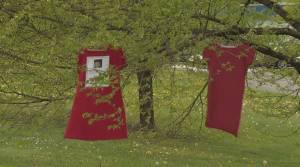 Missing and murdered Indigenous women and girls honoured in B.C. on Red Dress Day (01:58)