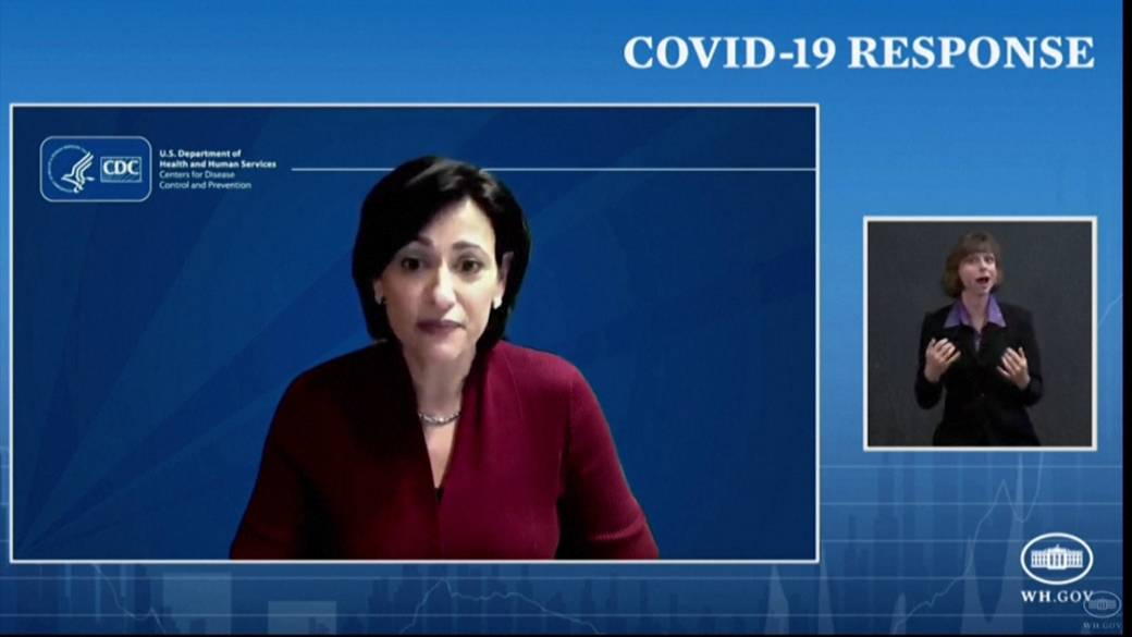 Click to play video: 'Coronavirus: CDC announces vaccinated Americans can gather without masks, distancing indoors'