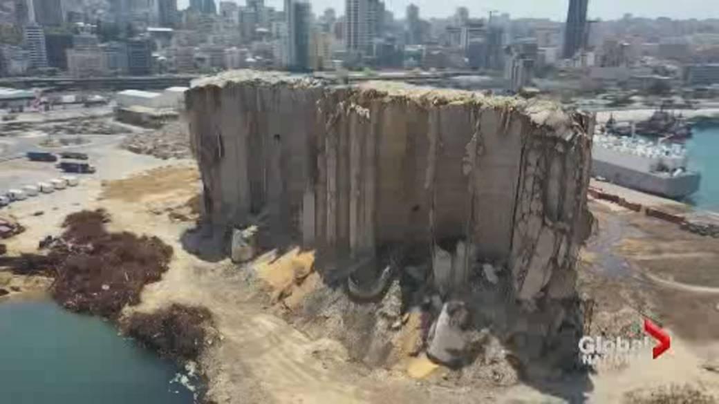 'Beirut marks 1 twelvemonth  since larboard  explosion'