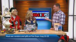 Must-see vendors and gifts at Fan Expo