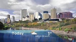 Edmonton early morning weather forecast: Tuesday, October 8, 2019
