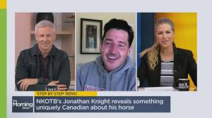New Kids on the Block star Jonathan Knight on his new show 'Farmhouse Fixer' (05:38)