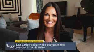 Lisa Barlow on an explosive season of Real Housewives of Salt Lake City (05:12)