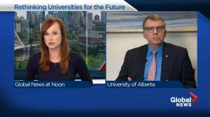 University of Alberta president touts resilience during financial hardship