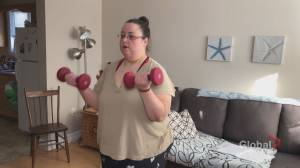 After losing 120 lbs this New Brunswick woman says she plans to lose 100 lbs more