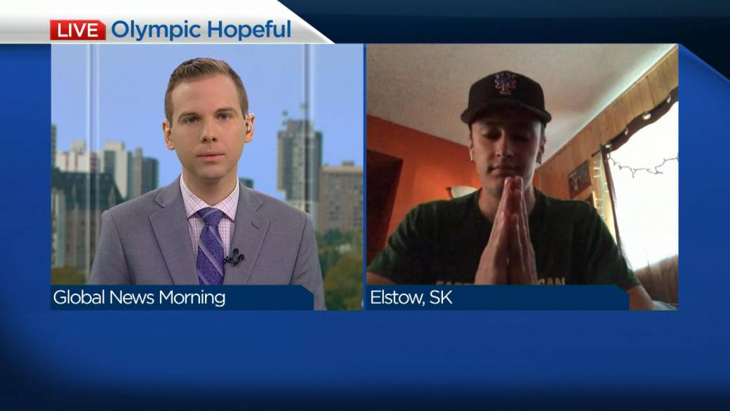 Click to play video: 'Sask. hurdler to compete for Olympic spot at Team Canada trials'