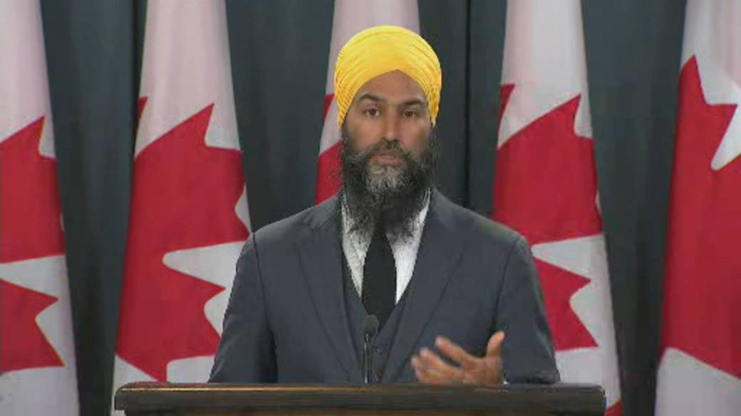 Click to play video: 'Coronavirus: NDP Leader Jagmeet Singh says COVID-19 exposed problems, says action needed'