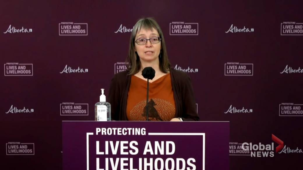 Click to play video 'Alberta identifies 257 new COVID-19 cases, 2 more deaths related to the disease Tuesday'