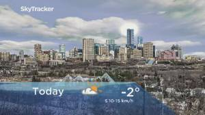 Edmonton early morning weather forecast: Tuesday, February 25, 2020