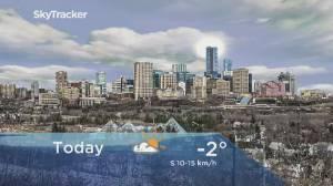 Edmonton early morning weather forecast: Tuesday, February 25, 2020