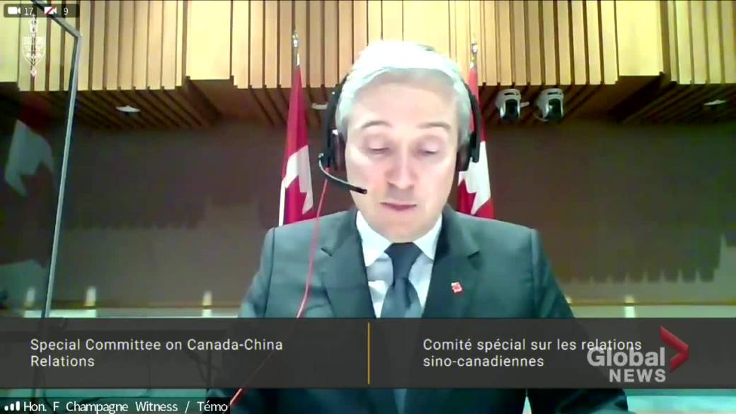 Click to play video 'Foreign affairs minister says Canada is working with 'like-mined countries' to ensure China abides by international human rights laws'