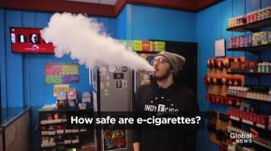How safe are e-cigarettes?