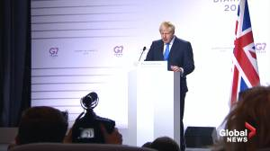 U.K. PM Boris Johnson says Iran has opportunity to come back into nuclear deal