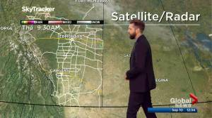 Edmonton afternoon weather forecast: Thursday, September 10, 2020