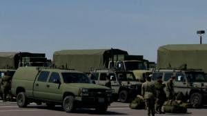 Coronavirus outbreak: Canadian troops gather at CFB Borden as part of COVID-19 response