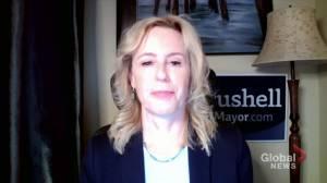 Conversation with Edmonton mayoral candidates: Kim Krushell (04:46)