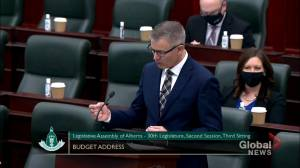 Alberta Budget 2021:  Toews says public sector wage structure must be addressed (00:37)