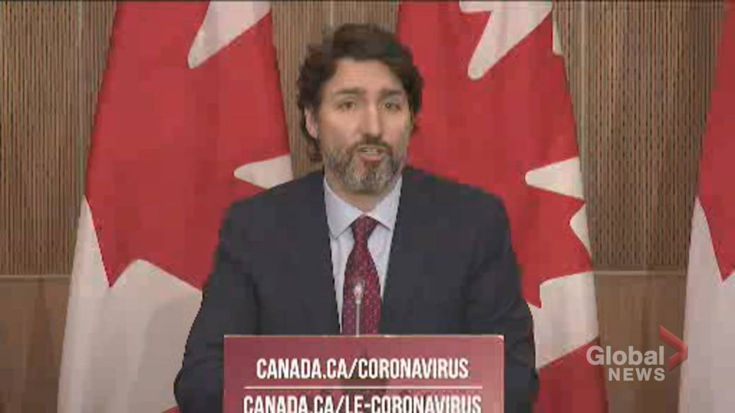 Click to play video 'Coronavirus: Trudeau says early Pfizer-BioNTech vaccine doses would be given to Canada's 'most vulnerable''