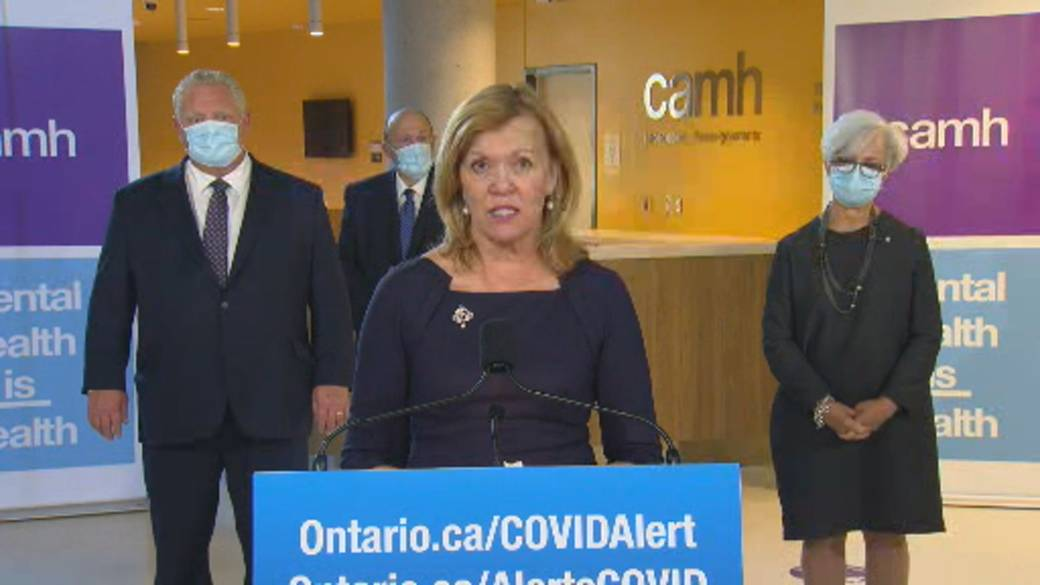 Click to play video 'Coronavirus: Ontario health minister says work being done to get COVID-19 testing for homeless'