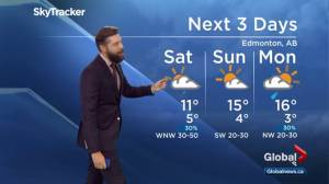 Edmonton Weather Forecast: Oct. 4