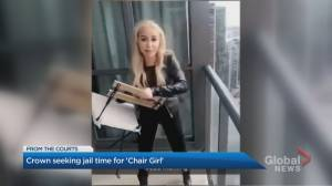 'Chair girl' in court for sentencing hearing in Toronto