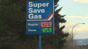 Gas war in the Okanagan
