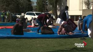 Eid during COVID-19: A subdued celebration for Edmonton Muslims (01:48)