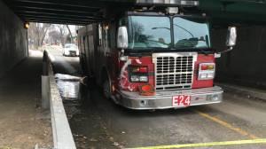 Man arrested after fire truck stolen in Winnipeg