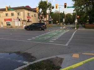 Winnipeg Police cruiser hits pedestrian
