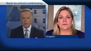 Ontario NDP leader Andrea Horwath says parents face 'impossible choice' over back-to-school (04:39)