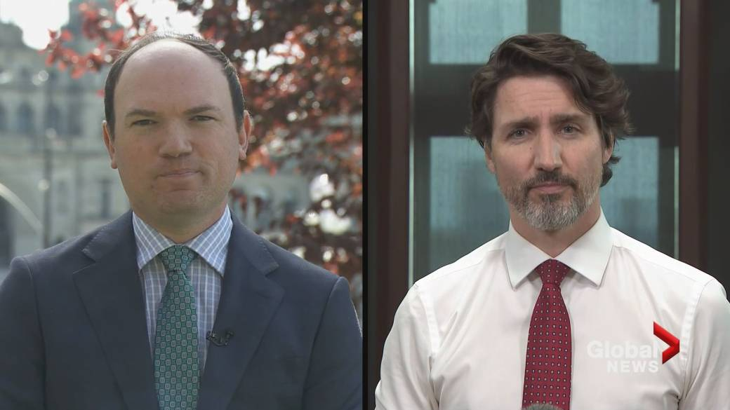 Click to play video: 'Trudeau on why flights continue to arrive every day in Canada amid concerns about COVID-19 outbreak'