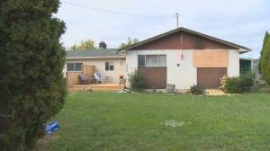 Kelowna resident reports hearing noise in spare room only to discover it was on fire